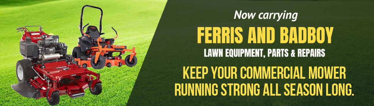 Ferris and Bad Boy commercial mower maintenance service. Keep your commercial mower running strong all season long.
